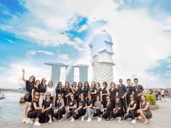 Vừa du lịch, trải nghiệm tại Singapore vừa được đào tạo marketing hàng đầu cùng Dr. Lacir