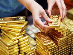 Giá vàng cuối tuần rơi thẳng đứng