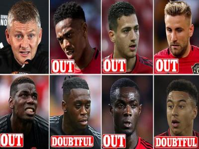 M.U tan nát đội hình trước trận gặp Leicester