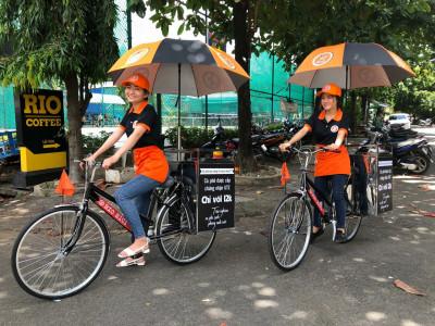 Cafe Rio Bici- lan toả một giá trị