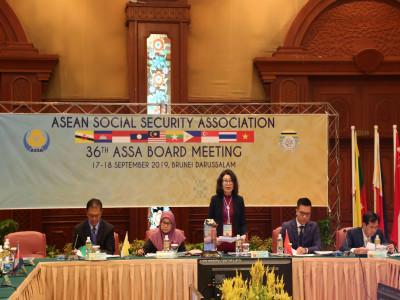 Hội nghị Ban chấp hành Hiệp hội An sinh xã hội ASEAN (ASSA) 36