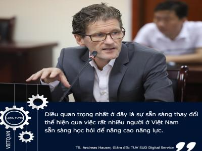 Việt Nam sẽ sớm có vị thế  trong lĩnh vực công nghiệp 4.0