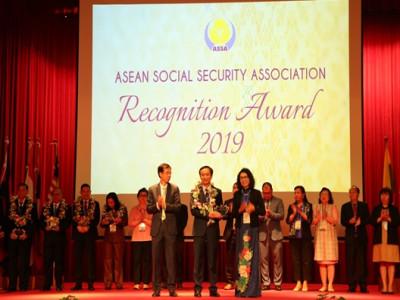 BHXH Việt Nam nhận Giải thưởng ASSA