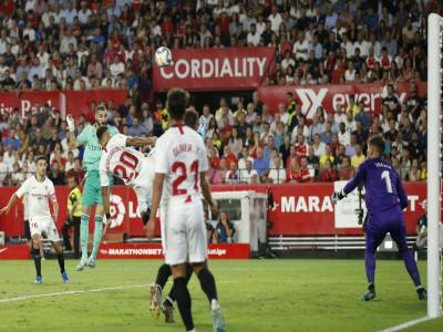 Real tìm lại niềm vui bằng trận thắng Sevilla