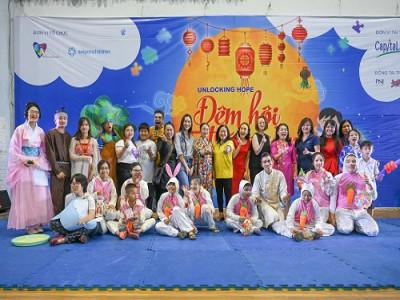 """CapitaLand phối hợp cùng saigonchildren tổ chức """"Đêm hội trăng rằm"""" cho 300 trẻ tự kỷ"""
