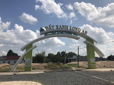 Nhiều sai phạm của chủ dầu tư Dự án chỉnh trang khu dân cư Đất xanh Mỹ Hạnh Nam (Long An)
