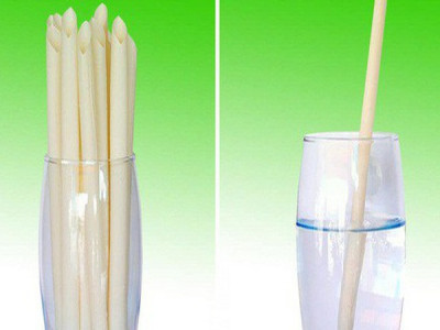 Tạo ra ống hút từ nước dừa, uống xong ăn được
