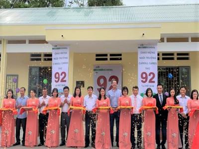 Cargill đã xây dựng thêm hai ngôi trường mới tại Việt Nam