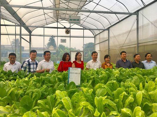 Hiệp hội Doanh nghiệp TP Thanh Hóa và Tập đoàn Win 2000 Trung Quốc thăm doanh nghiệp hội viên
