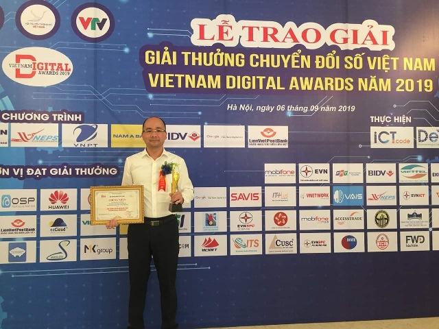 VNPT vinh danh tại Giải thưởng Chuyển đổi số Việt Nam