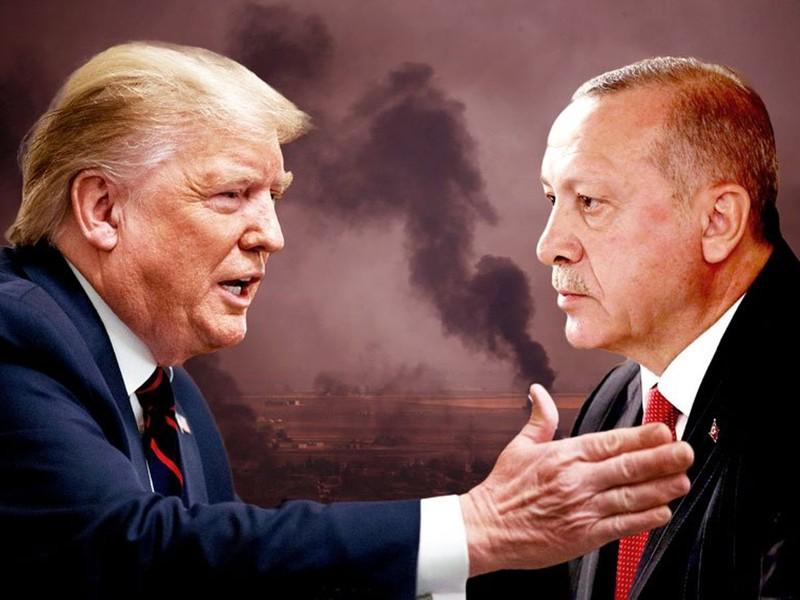 """D.Trump viết thư gửi Tổng thống Thổ Nhĩ Kỳ T. Erdogan: """"Đừng làm một tên ngốc!"""""""