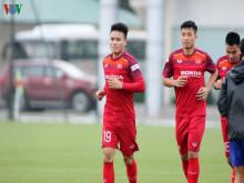 Văn Hậu hội quân, ĐT Việt Nam tập kín trước ngày đấu Malaysia