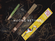 Hương Hồng Hạc và ý tưởng sản xuất xanh từ cỏ Vetiver