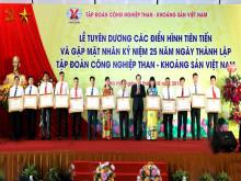 TKV tuyên dương các điển hình tiên tiến và gặp mặt nhân kỷ niệm 25 năm ngày thành lập
