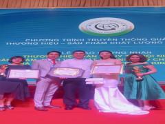 Thương hiệu kem TBD vinh dự nhận giải thưởng lớn sản phẩm chất lượng cao, chuẩn quốc tế