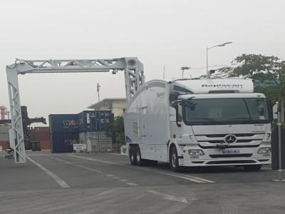 Hải quan Hải Phòng: Máy soi container - chốt chặn  hoạt động buôn lậu