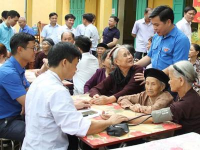 Quan tâm hỗ trợ nhóm NCT từ 60 tuổi đến 79 tuổi tham gia BHYT