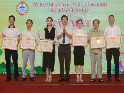 Quảng Bình: Gặp mặt hơn 150 doanh nghiệp tiêu biểu nhân ngày Doanh nhân Việt Nam