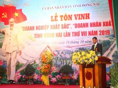Nestlé Việt Nam được vinh danh Doanh nghiệp xuất sắc của tỉnh Đồng Nai