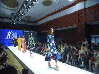 Aquafina Tuần lễ Thời trang Quốc tế Việt Nam tròn 10 năm