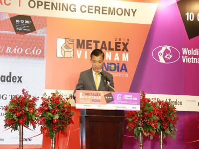 'METALEX Vietnam 2019'  hội tụ hơn 500 thương hiệu ngành cơ khí.