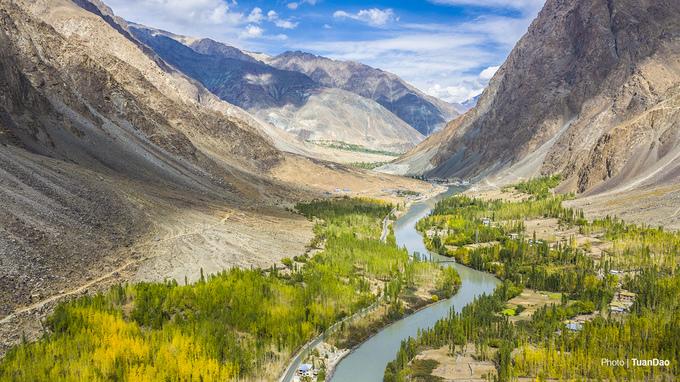 Mùa thu yên bình ở Ladakh
