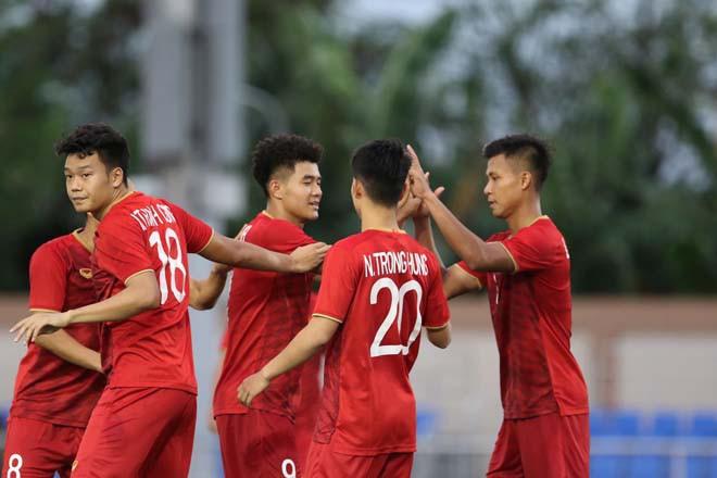 U22 Việt Nam vs U22 Lào: Quang Hải nhập trận, Tiến Dũng dự bị