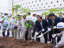 """Hơn 1,000 người chung tay góp sức xây dựng  """"Cánh Rừng Quê Hương AEON"""""""