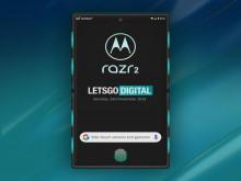 Motorola Razr 2 tích hợp cảm ứng viền