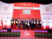 SeABank xếp hạng 70/500 doanh nghiệp tư nhân có lợi nhuận tốt nhất Việt Nam năm 2019