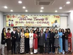 Tọa đàm du lịch giữa 3 thành phố Daegu, Gyeongju, Busan với các đại lý du lịch lớn của Việt Nam