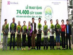 Ngân hàng TMCP Đông Nam Á (SeABank) trao tặng 74.400 cây xanh hồi sinh núi Hồng Lĩnh, Hà Tĩnh