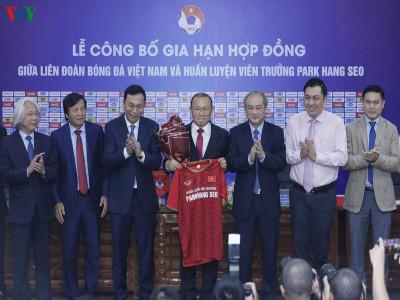 """HLV Park Hang Seo: """"Tôi yêu bóng đá Việt Nam một cách chân thành"""""""