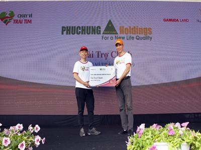 Phục Hưng Holdings góp phần cho thành công của chương trình Chạy vì trái tim 2019