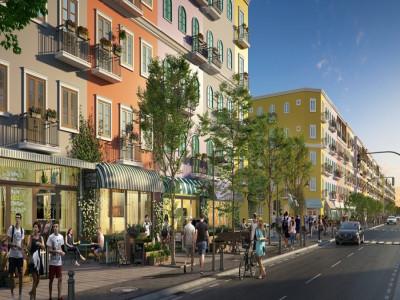 Cảm hứng Địa Trung Hải trong màu sắc của Sun Grand City New An Thoi