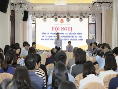 Tổng kết thi hành Luật BHXH và xây dựng Bộ chỉ số đánh giá mức độ hài lòng về BHXH