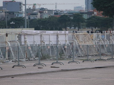 Trận Việt Nam – Thái Lan: Thắt chặt an ninh sân Mỹ Đình trước giờ bóng lăn