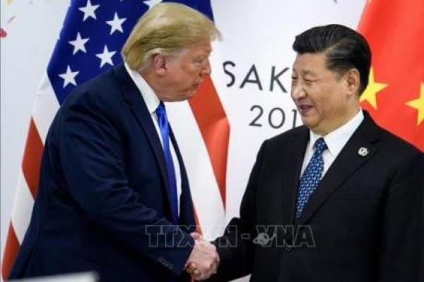 """Quan hệ thương mại Mỹ - Trung: Gập ghềnh chặng đường dẫn tới thỏa thuận """"Giai đoạn 1"""""""