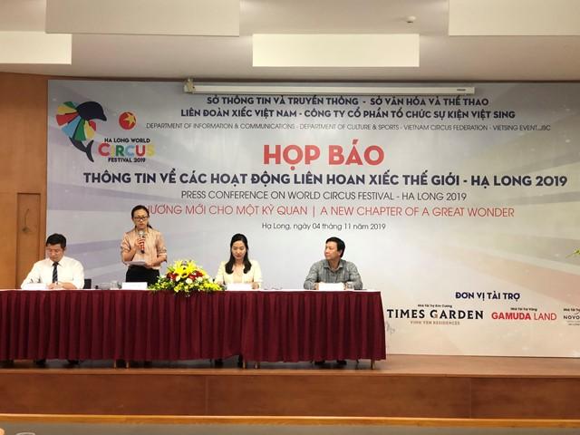Quảng Ninh: Liên hoan Xiếc Thế giới - Hạ Long 2019