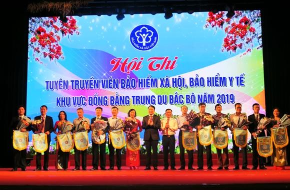 Hội thi tuyên truyền viên BHXH, BHYT khu vực Đồng bằng Trung du Bắc Bộ năm 2019