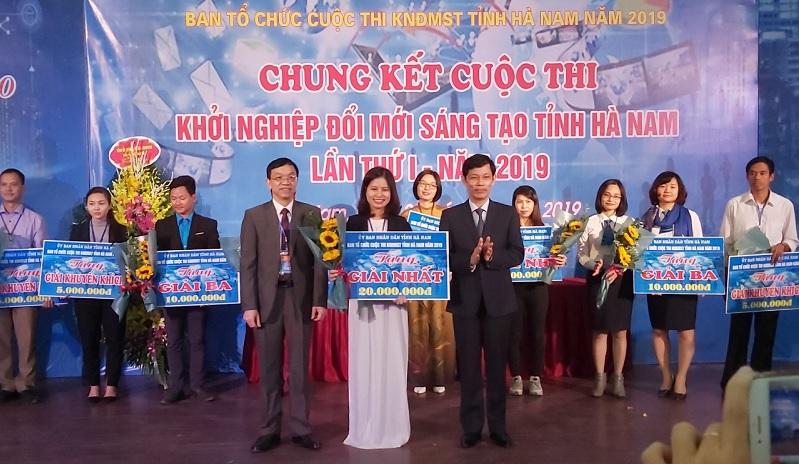 Hà Nam: 10 ý tưởng, dự án tham gia chung kết cuộc thi khởi nghiệp đổi mới sáng tạo 2019