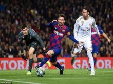 Barcelona và Real Madrid bất phân thắng bại ở Nou Camp