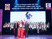 Công ty Elite vinh dự có 4 đại diện nhận giải thưởng Doanh nhân trẻ tiêu biểu 2019