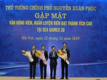 VinaPhone trao quà tặng cho các VĐV giành huy chương tại SEA Games 30