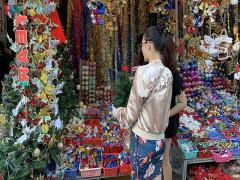 Thị trường Giáng sinh 2019: Cây thông nhập khẩu đắt khách