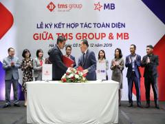 """MB """"bắt tay"""" hợp tác toàn diện cùng TMS Group"""