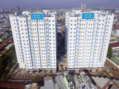 Chính thức bàn giao khối C, D, E dự án nhà ở xã hội HQC-HQC Hồ Học Lãm cho cư dân nhận nhà đón Tết