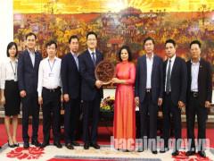 Chủ tịch UBND tỉnh Bắc Ninh tiếp và làm việc với doanh nghiệp Hàn Quốc