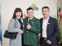 NSND Thu Hà và dàn nghệ sĩ Táo quân bất ngờ hội ngộ