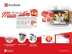 Ngân hàng TMCP Đông Nam Á tặng IPHONE 11 cho khách hàng mở mới thẻ SeA-Easy và SeALady Visa
